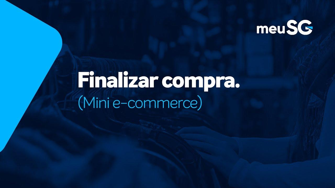 Finalizar Compra no Mini E-commerce